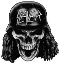 Slayer - Wehrmacht Skull Cut-Out Aufnäher