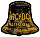 AC/DC - Hells Bells Cut Out Aufnäher